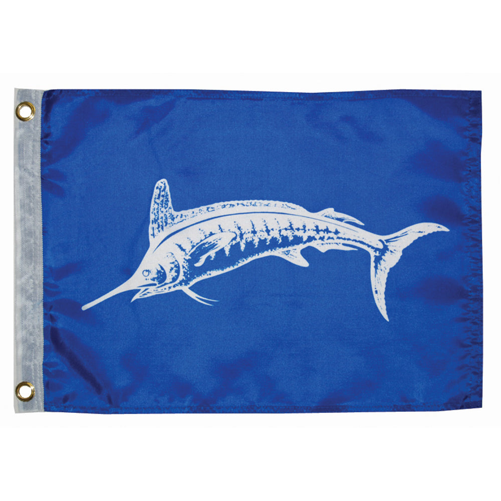 "Taylor Made 12"" x 18"" White Marlin Flag [3018]"