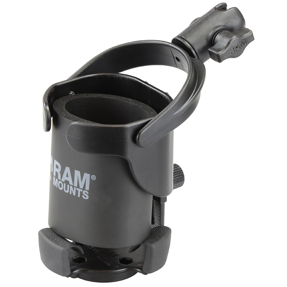 "RAM Mount Level Cup XL w-Single Socket for B Size 1"" Ball [RAP-B-417-200-1U]"