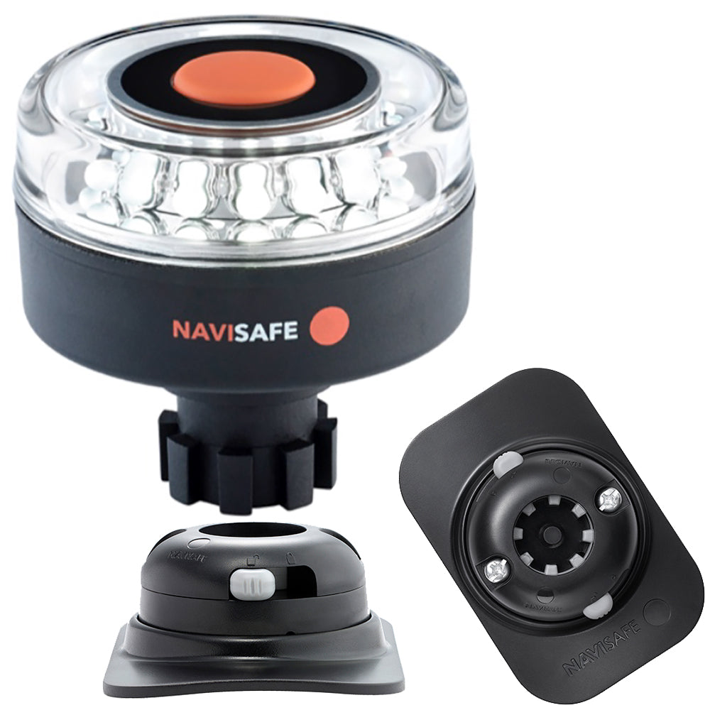 Navisafe Navilight 360 2NM w-Navibolt Base  RIB Mount - Black [042KIT2]