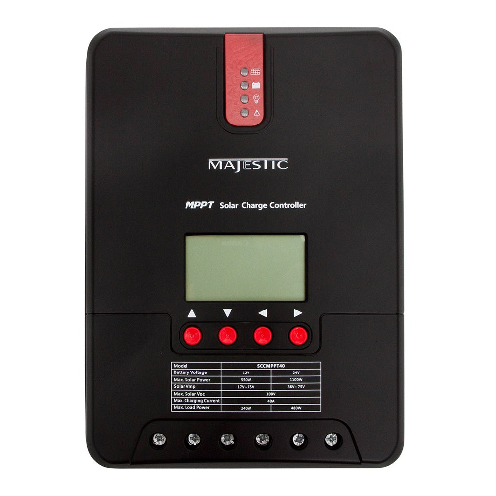 Majestic MPPT Solar Charge Controller - 40 Amp [SCCMPPT40]