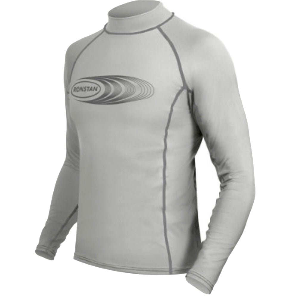 Ronstan Long Sleeve Rash Guard Top - UPF50+ - Ice Grey - XS [CL22XS]