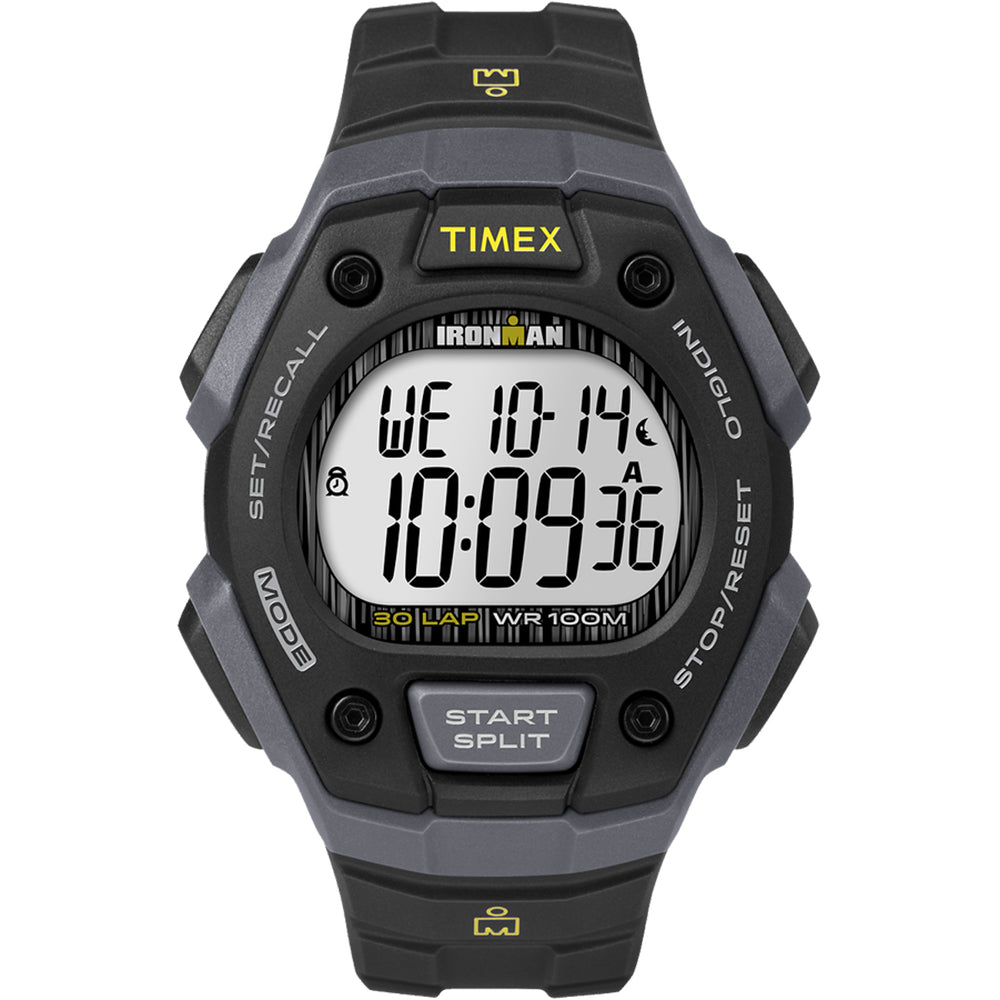 Timex IRONMAN Classic 30 Lap Full-Size Watch - Black [TW5M09500JV]