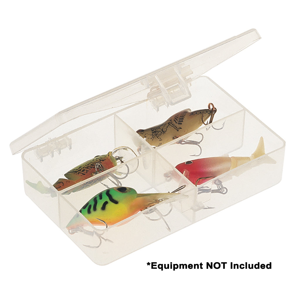 Plano Four-Compartment Tackle Organizer - Clear [344840]