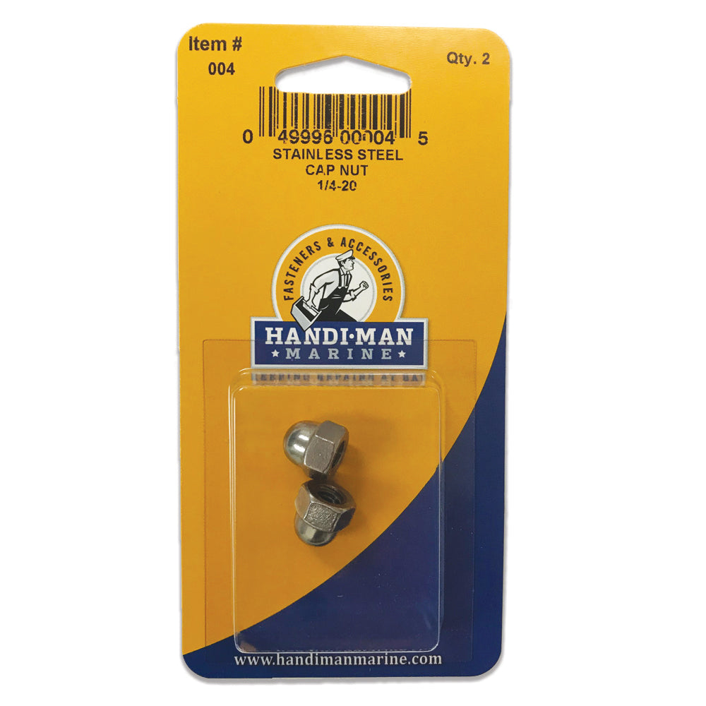 Handi-Man Stainless Steel Cap Nut - 1-4-2 [004]