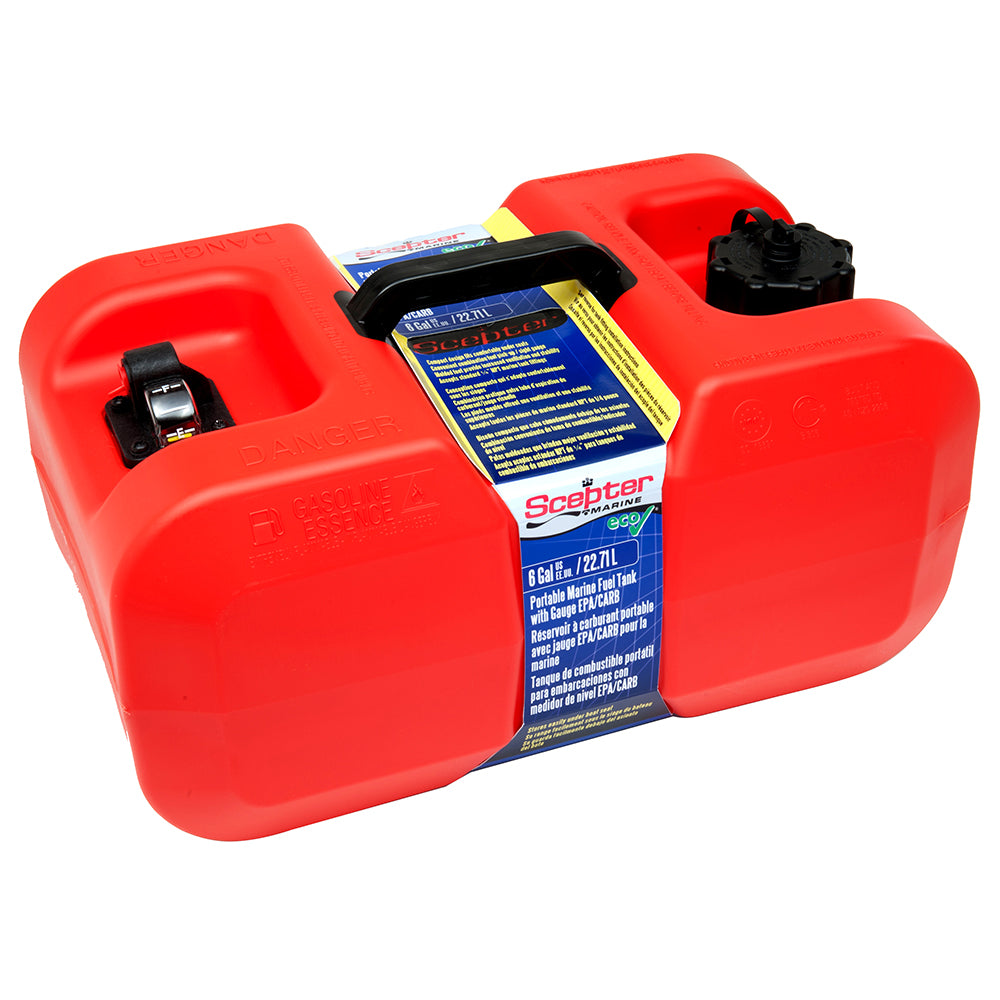 Scepter Under Seat Portable Fuel Tank - 6 Gallon [10511]