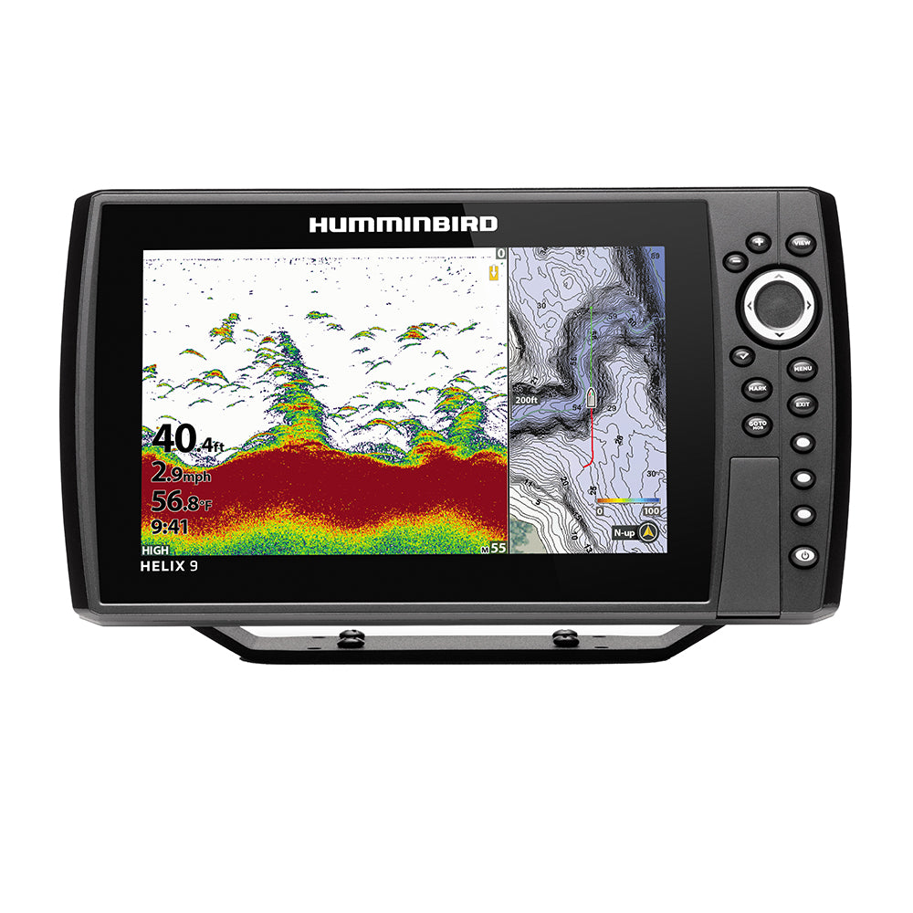 Humminbird HELIX 9 CHIRP Fishfinder-GPS Combo G3N w-Transom Mount Transducer [410840-1]