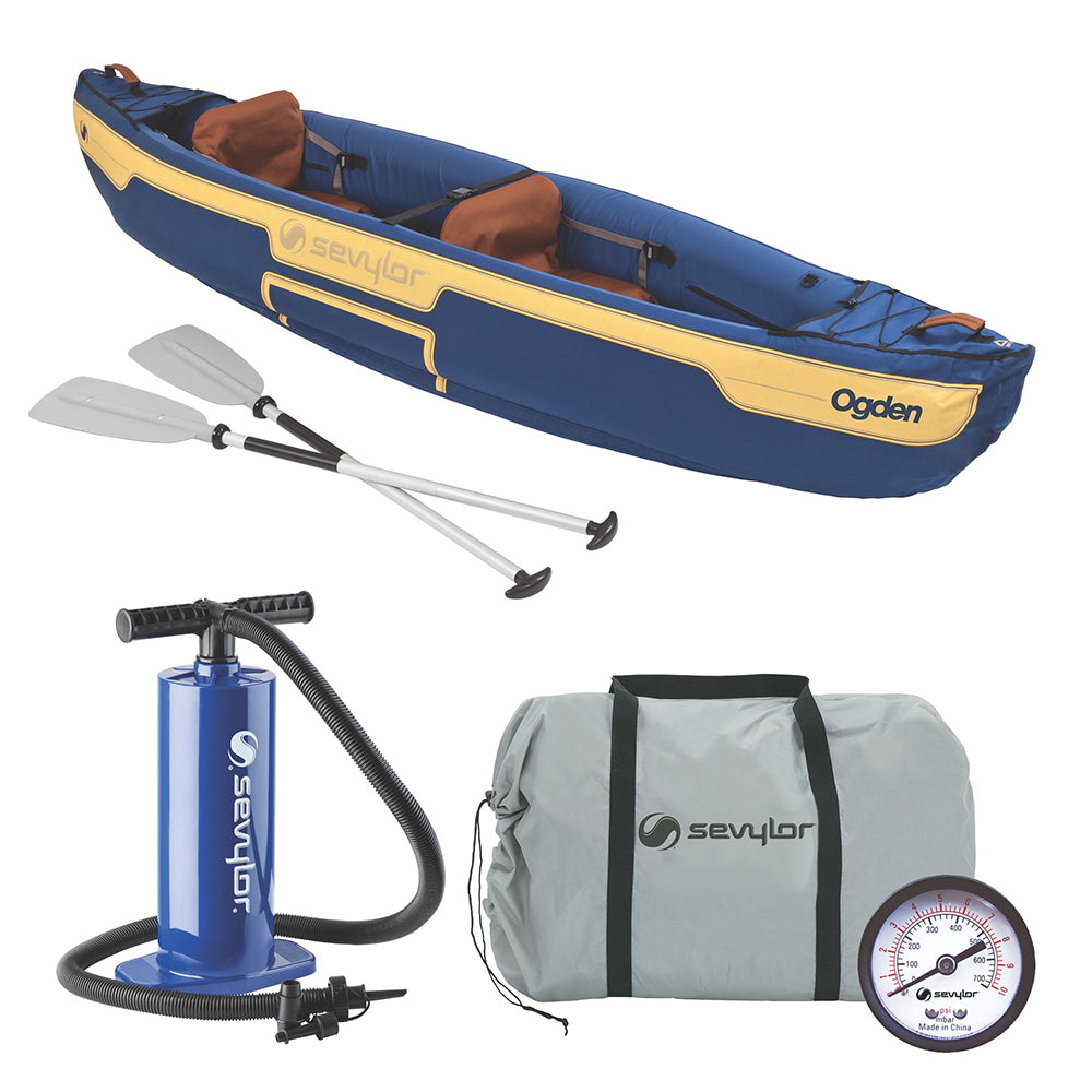 Sevylor Ogden Inflatable Canoe Combo - 2-Person [2000014328]