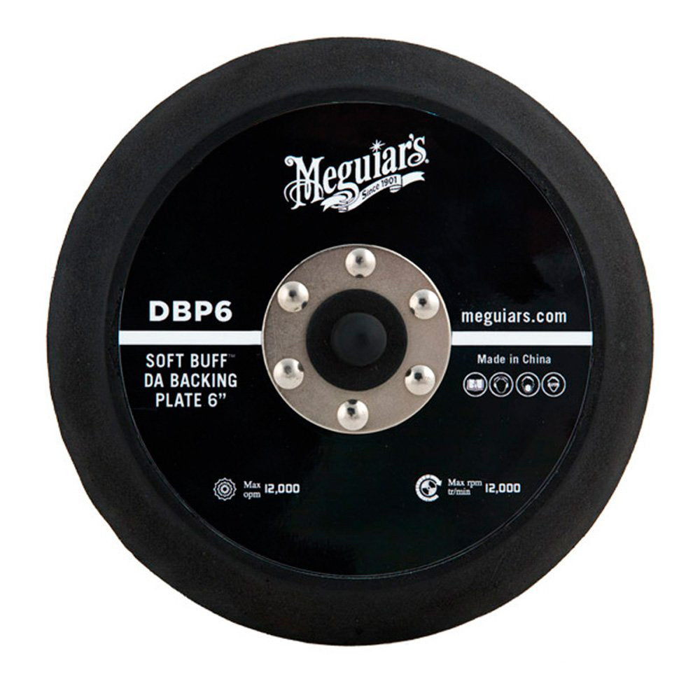 "Meguiars 6"" DA Backing Plate [DBP6]"