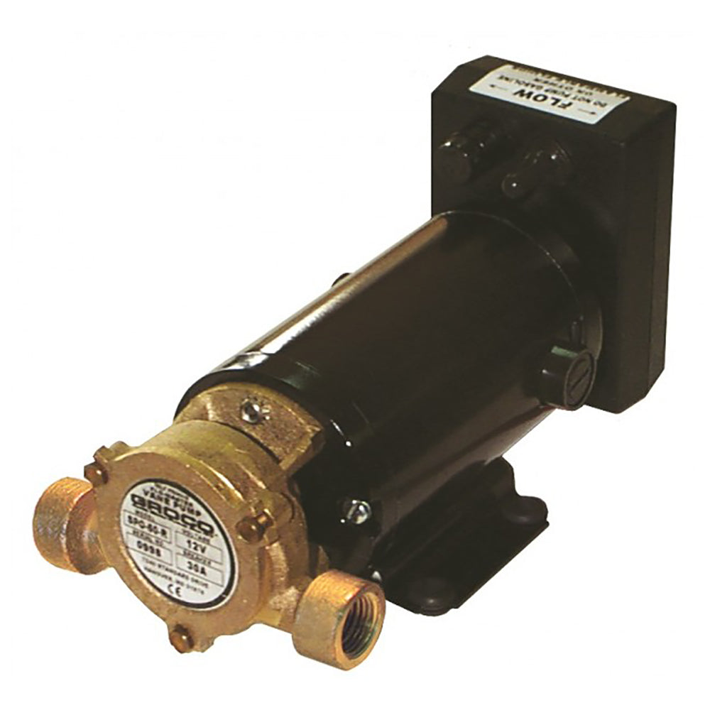 GROCO Heavy Duty Positive Displacement Reversing Vane Pump - 12V [SPO-60-R 12V]
