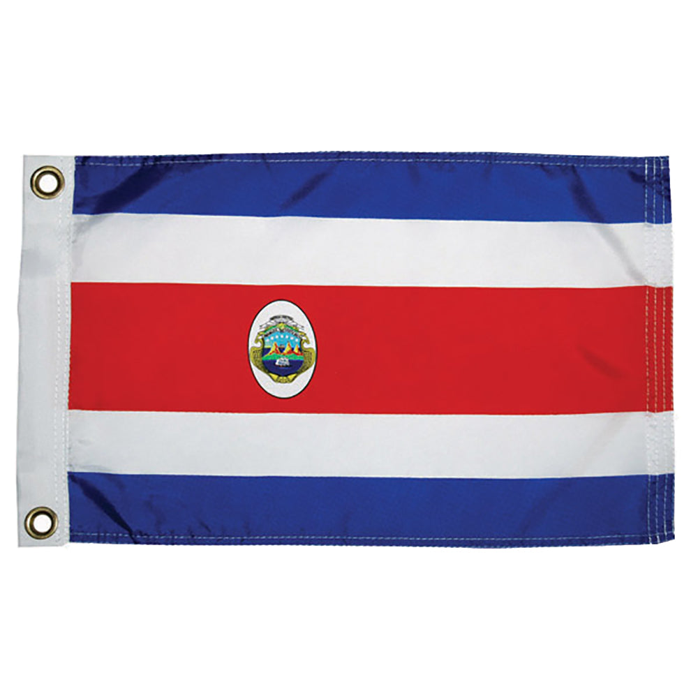 "Taylor Made Costa Rican Nylon Flag 12"" x 18"" [93072]"