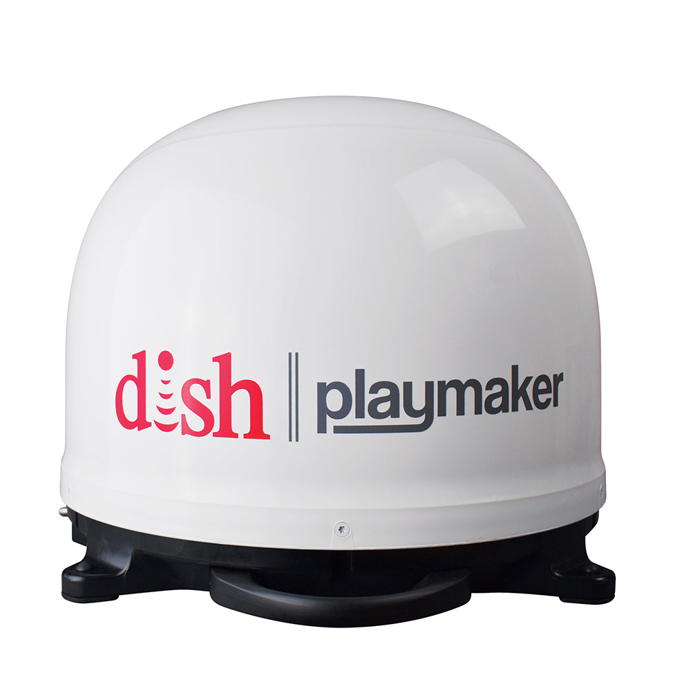 Winegard DISH Playmaker Gen2, Portable Satellite TV Antenna - White Dome [PL-7000]