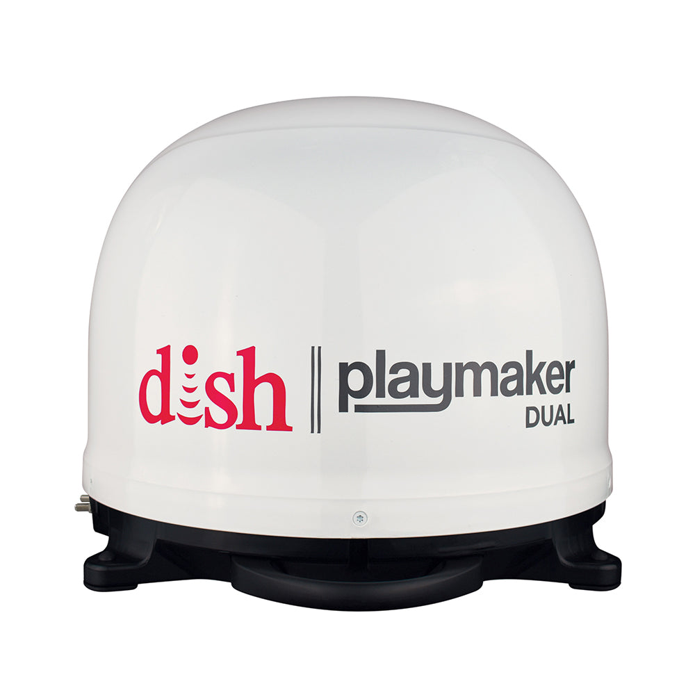 Winegard DISH Playmaker Dual Gen2 Portable Satellite TV Antenna - White Dome [PL-8000]