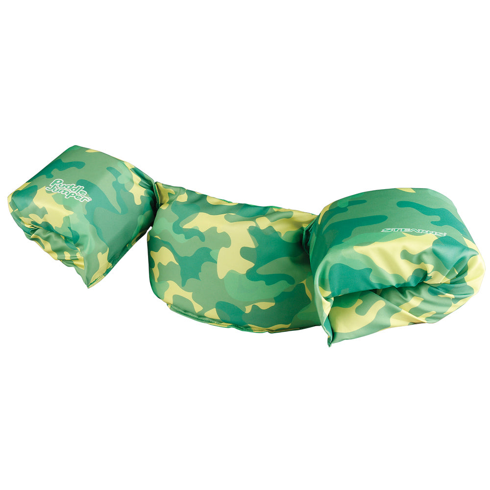 Stearns Puddle Jumper Kids Deluxe Life Jacket - Green Camo [3000006122]