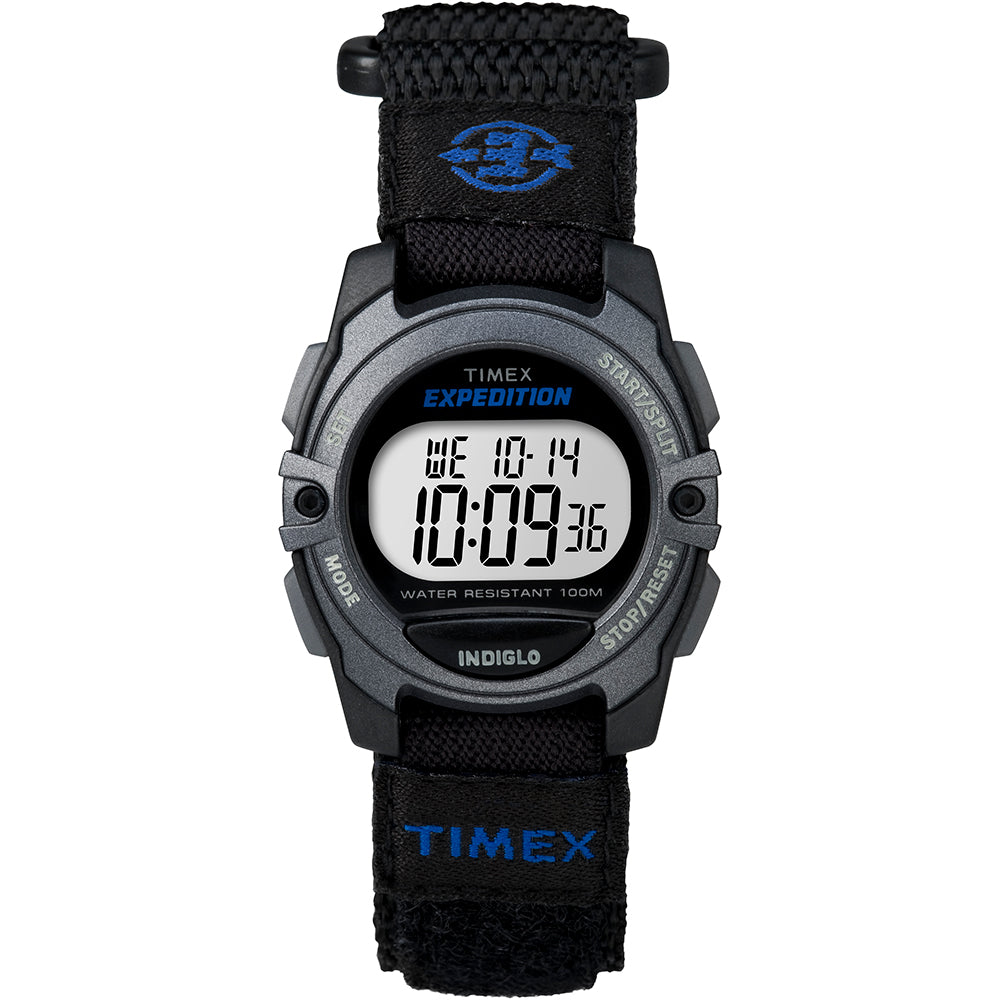 Timex Expedition Digital Core Fast Strap - Black-Blue [TW4B02400JV]
