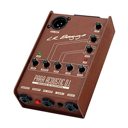 L.R. Baggs Para Acoustic DI Preamp - Harbor Music