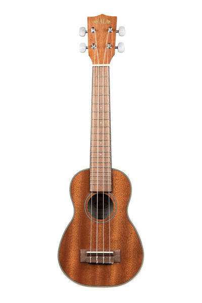 KALA KA-SLNG Gloss Mahogany Long Neck Soprano Ukulele - Harbor Music