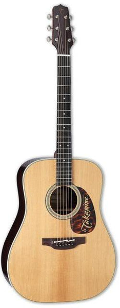 Takamine EF360S Thermal Top Dreadnought Acoustic-Electric Guitar Natural - Harbor Music