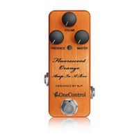One Control Fluorescent Orange BJF Series FX  |  Amp-In-A-Box  |  Distortion Pedal - Harbor Music