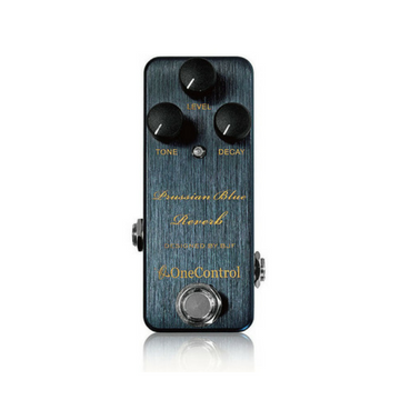 One Control Prussian Blue Reverb - Harbor Music