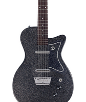 Danelectro 56 Baritone (in Black Metal Flake) - Harbor Music