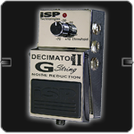 ISP Technologies Decimator II G-String Noise Reduction Pedal - Harbor Music