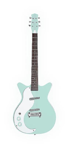 Danelectro 59M NOS+ (Left Handed) (Seafoam Green) - Harbor Music