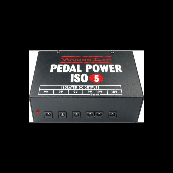 Voodoo Lab Pedal Power ISO-5 Power Supply - Harbor Music