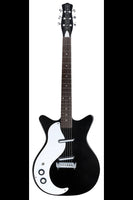 Danelectro 59M NOS+ Left Handed (Black) - Harbor Music