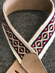 Henry Heller Woven Guitar Strap NAT - Harbor Music