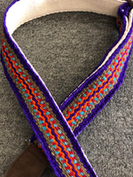 Henry Heller Woven Guitar Strap Peruvian Purple - Harbor Music