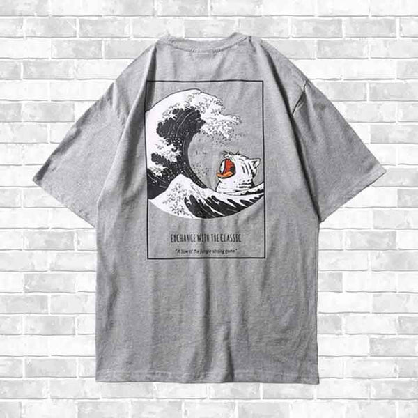 """CAT WAVE"" T-SHIRT"