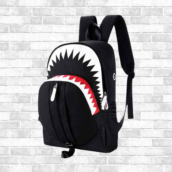 """BIG MOUTH SHARK"" BACKPACK"