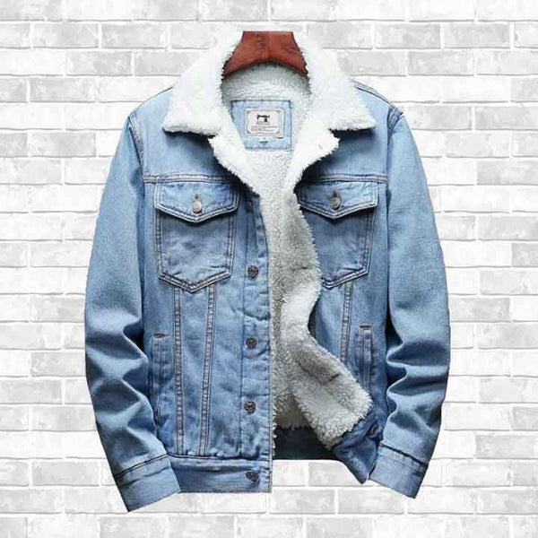 """ON STYLE"" DENIM WINTER JACKET"