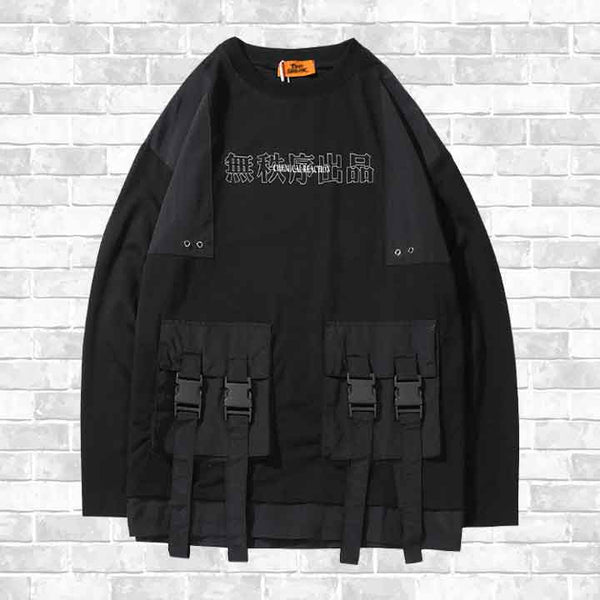 """STREET POCKETS"" SWEATSHIRT"