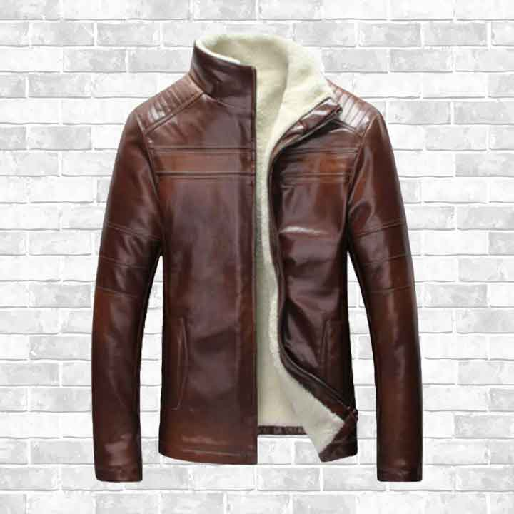 """STREET ELITE"" LEATHER WINTER JACKET"