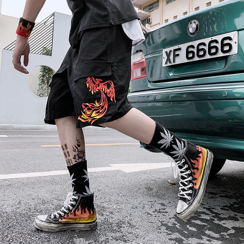 """FIRE BIRD"" SHORTS"
