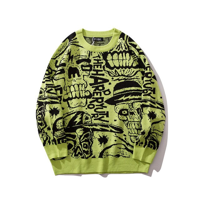 """THE SKULLS"" SWEATER"