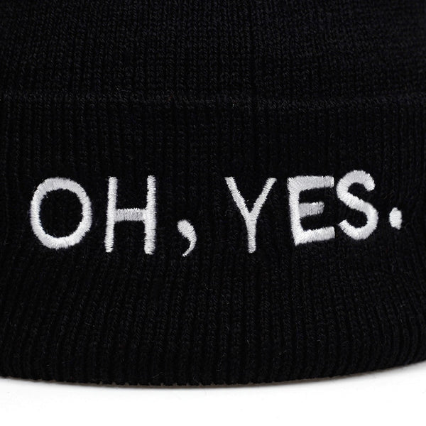 """OH, YES"" BEANIE"
