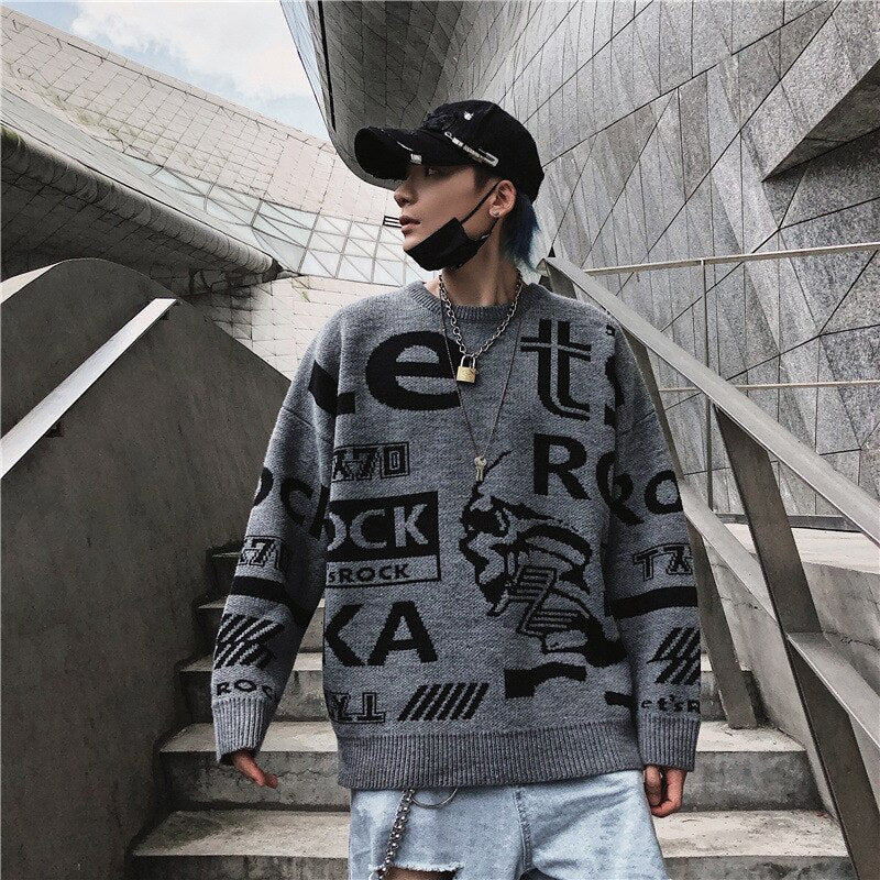 """LET'S ROCK"" SWEATER"