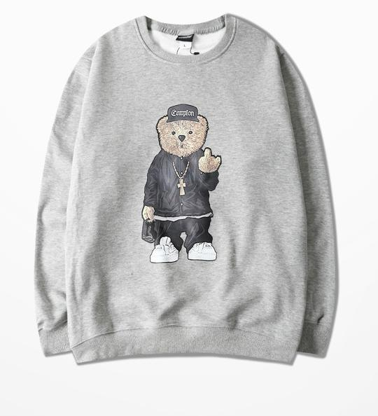 """HIP HOP BEAR"" SWEATSHIRT"