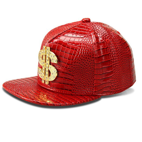 """DOLLAR CROCODILE"" CAP"