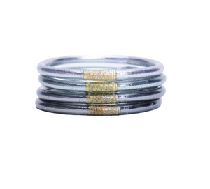 Moon BuDhaGirl Bangles - Stack of 4