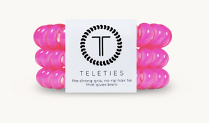 Hot Pink Teleties - Large