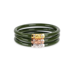 Three Kings BuDhaGirl Bangles - Jade