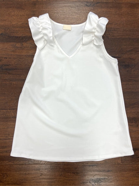 Southern Belle Top - White