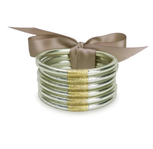 Lumiere BuDhaGirl Bangles - Stack of 6