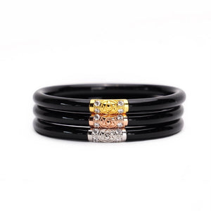 Three Kings BuDhaGirl Bangles - Black