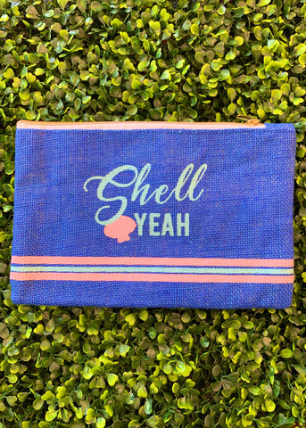 Shell Yeah Cosmetic Bag