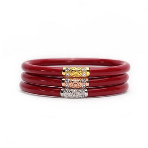 Three Kings BuDhaGirl Bangles - Red