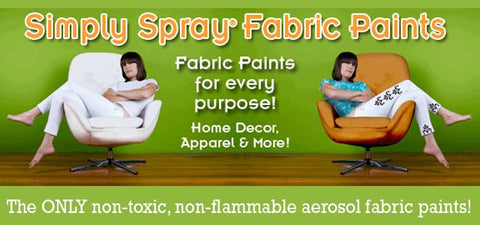 Simply Spray Soft Fabric Paint